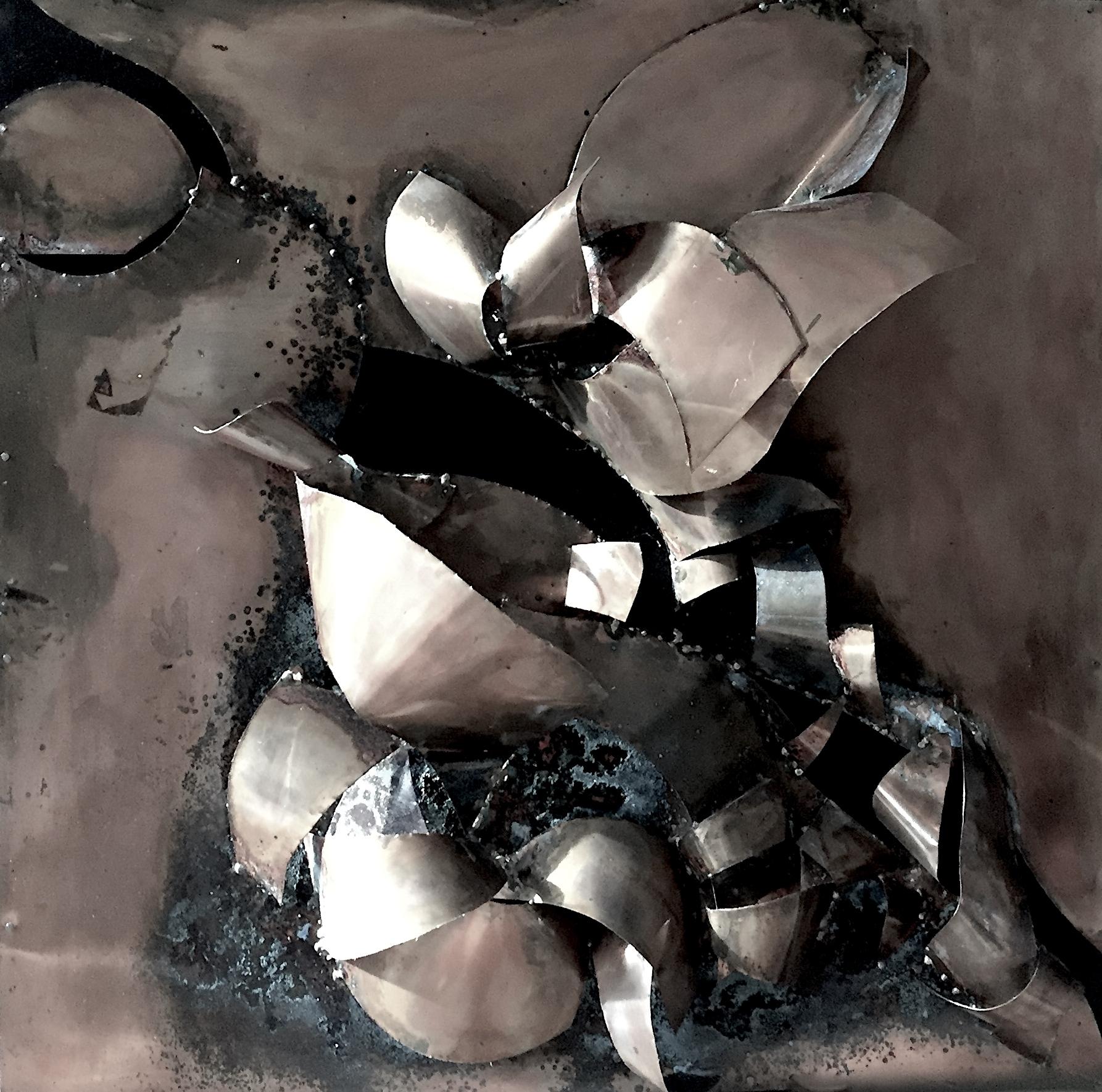 rame saldato scultura bergamo italia ossido Milano Italia