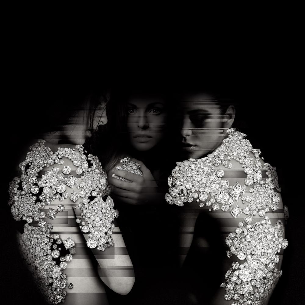diamanti arte contemporanea edy gree milano corpi femminili